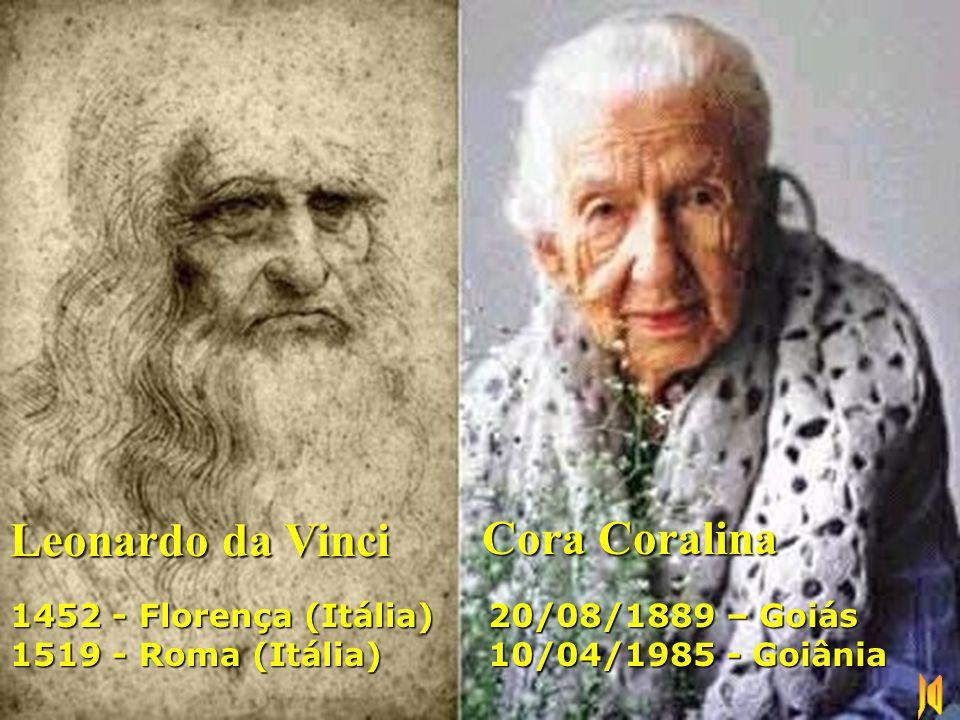 Leonardo da Vinci Cora Coralina