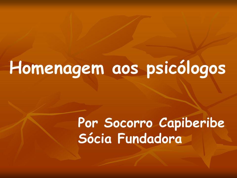 Homenagem aos psicólogos