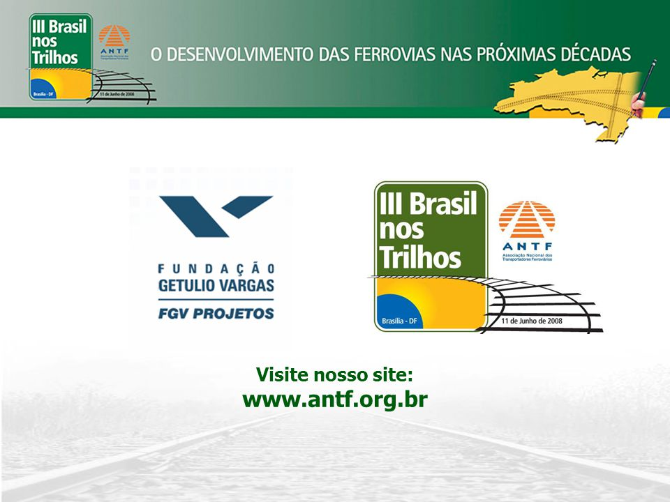 Visite nosso site: www.antf.org.br