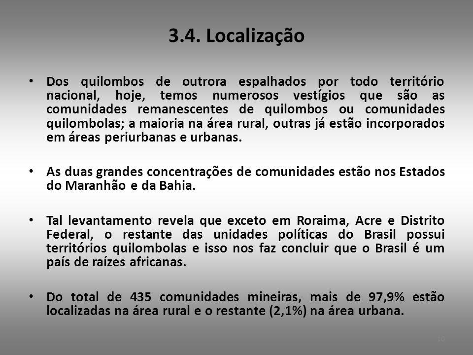 3.4. Localização