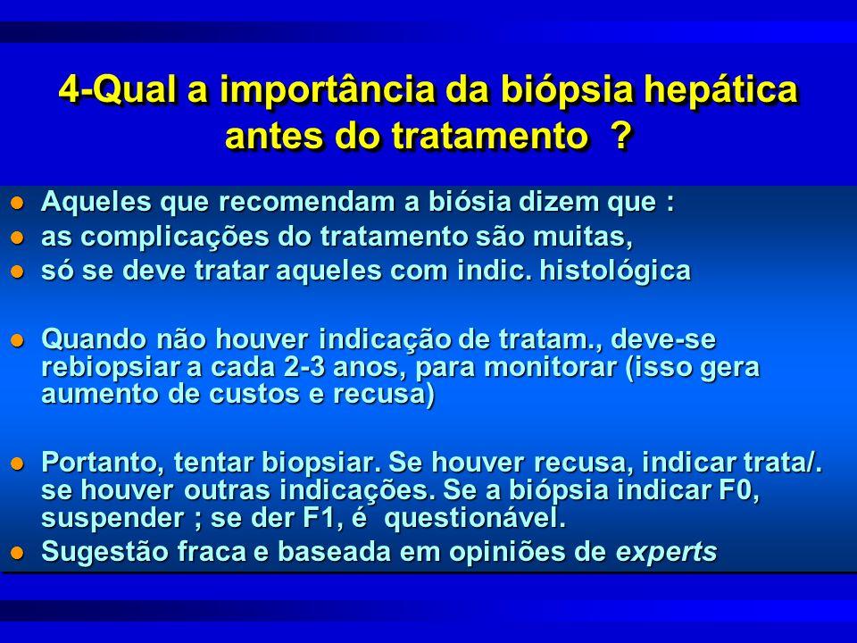 4-Qual a importância da biópsia hepática antes do tratamento