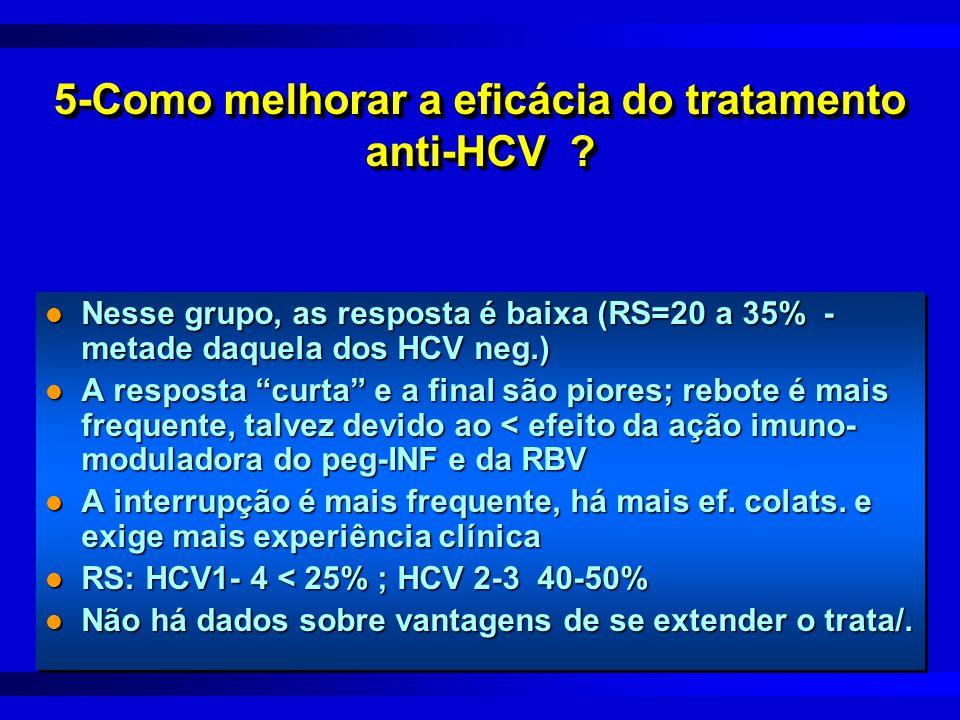 5-Como melhorar a eficácia do tratamento anti-HCV