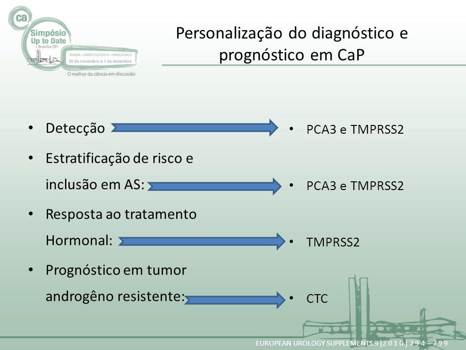 Personalização do diagnóstico e prognóstico em CaP