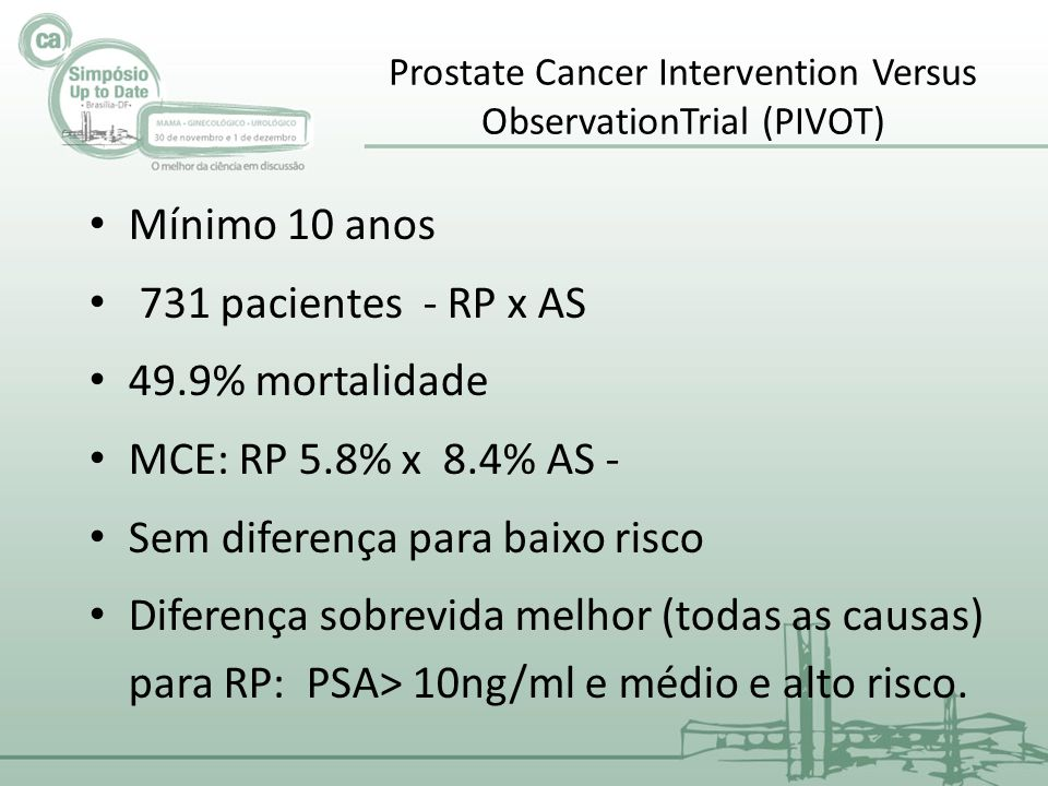 Prostate Cancer Intervention Versus ObservationTrial (PIVOT)