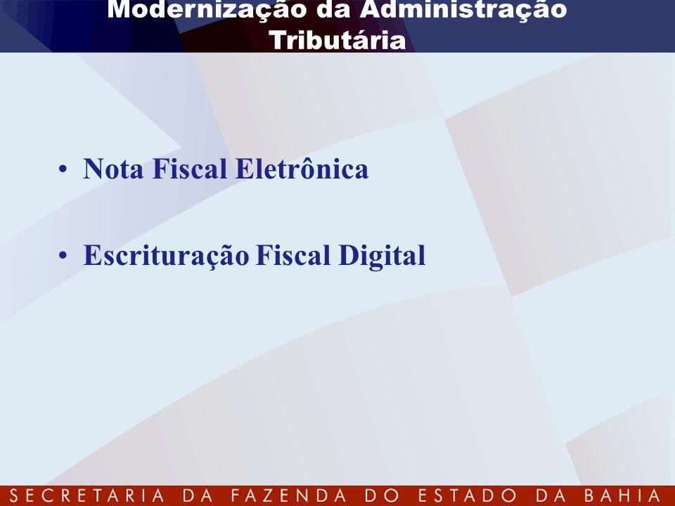 Modernização da Administração Tributária