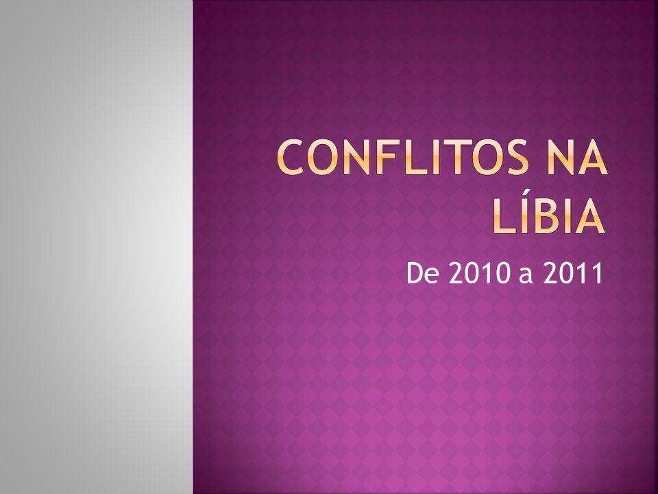 Conflitos na líbia De 2010 a 2011