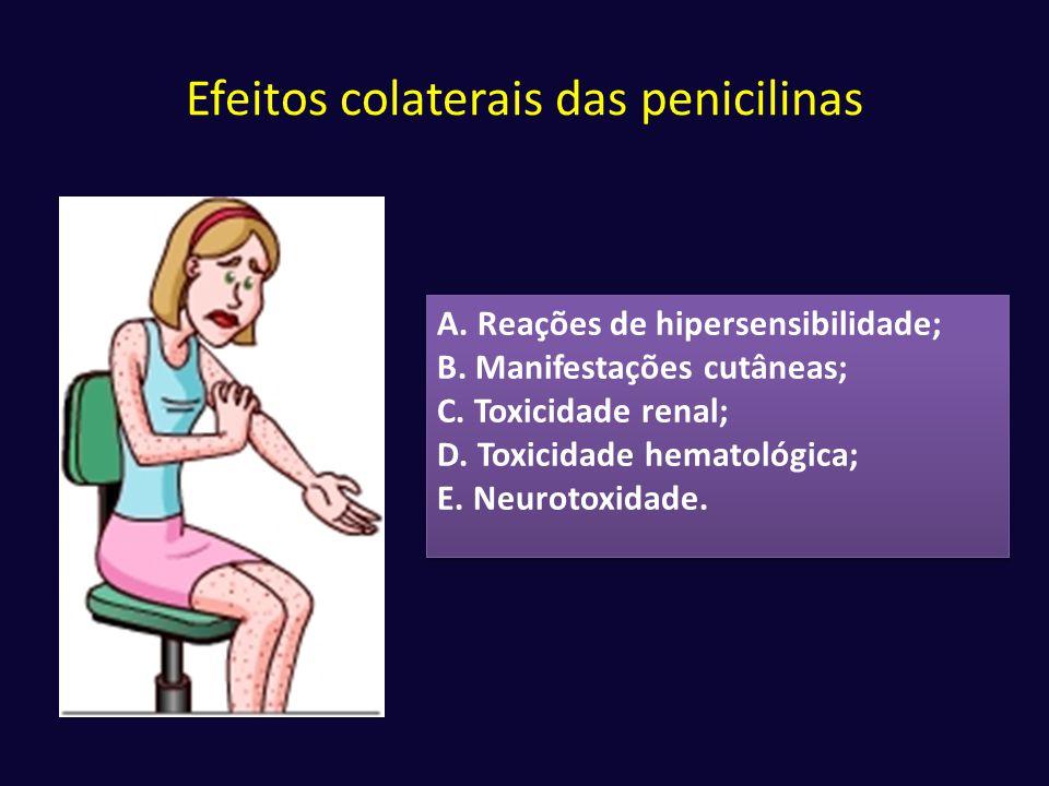 Efeitos colaterais das penicilinas