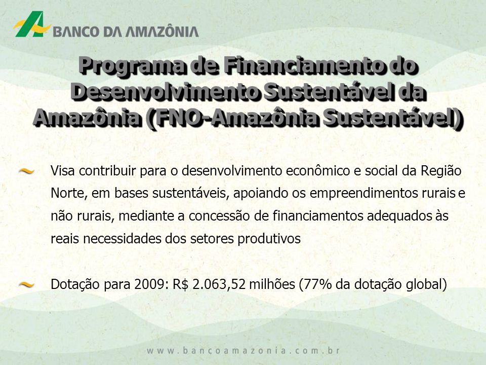 Programa de Financiamento do Desenvolvimento Sustentável da Amazônia (FNO-Amazônia Sustentável)