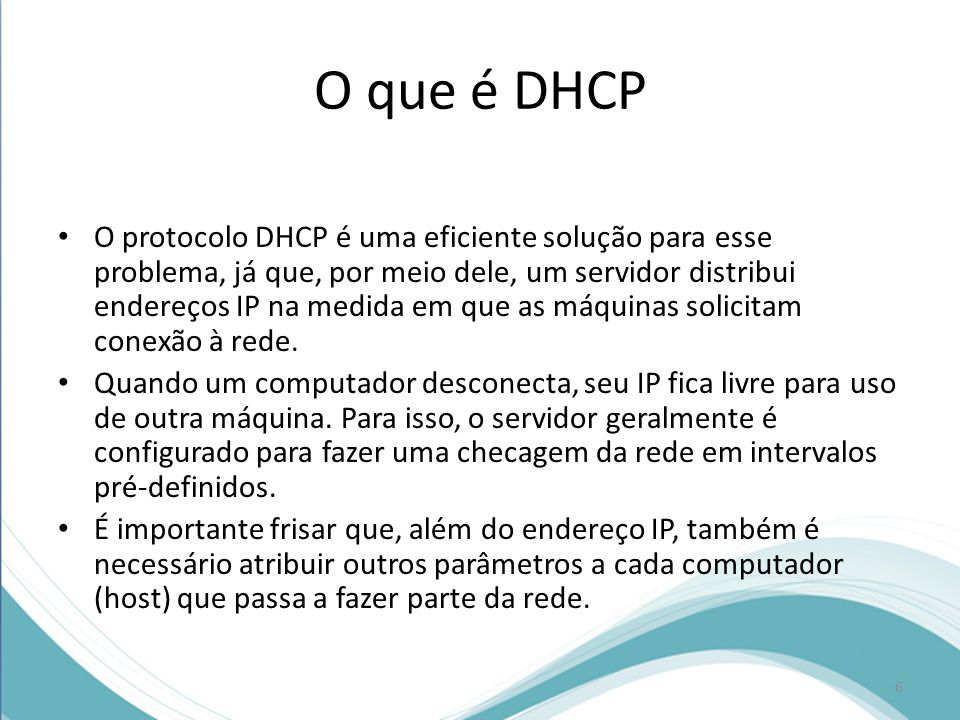 O que é DHCP