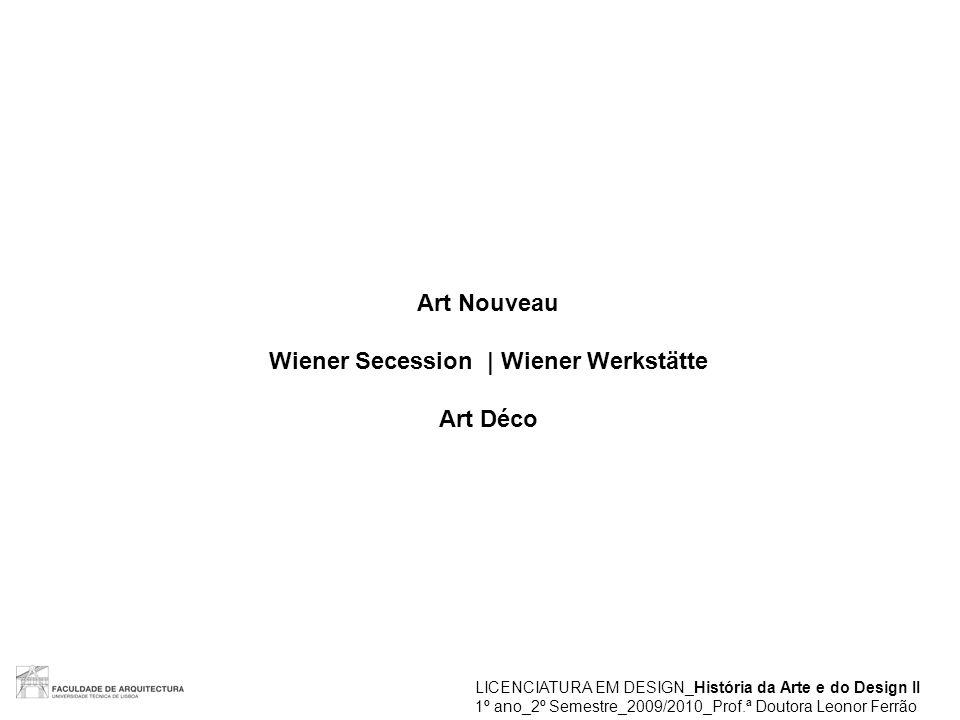Wiener Secession | Wiener Werkstätte