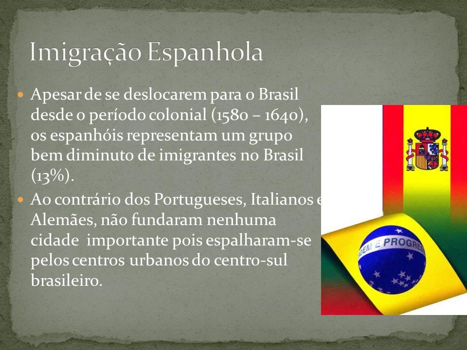 Imigração Espanhola