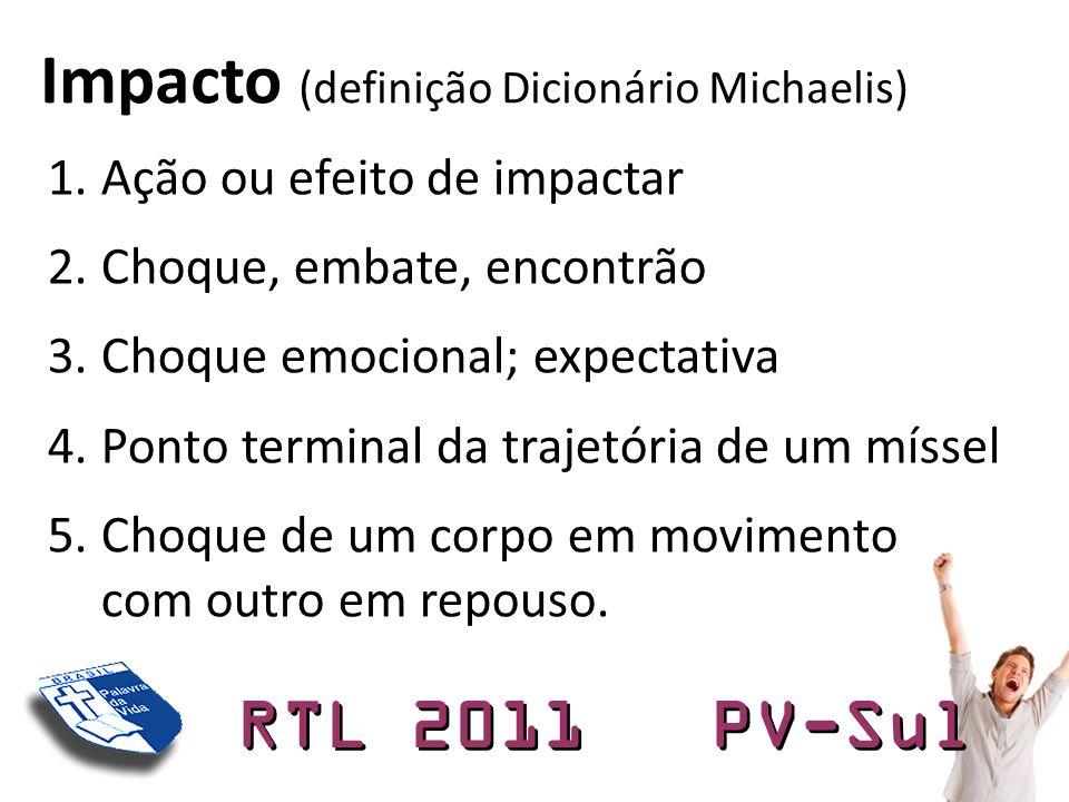 Impacto (definição Dicionário Michaelis)