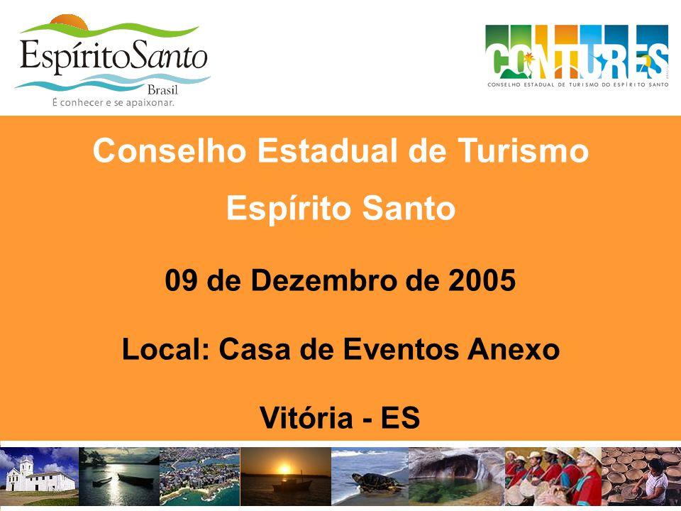 Conselho Estadual de Turismo Espírito Santo