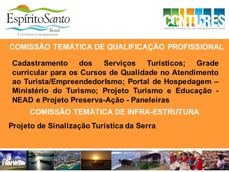 COMISSÃO TEMÁTICA DE QUALIFICAÇÃO PROFISSIONAL