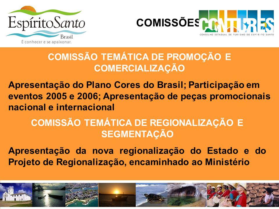 COMISSÕES TEMÁTICAS COMISSÃO TEMÁTICA DE PROMOÇÃO E COMERCIALIZAÇÃO