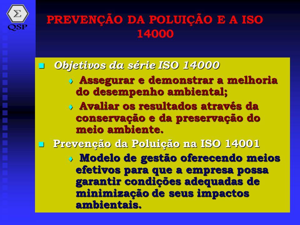PREVENÇÃO DA POLUIÇÃO E A ISO 14000