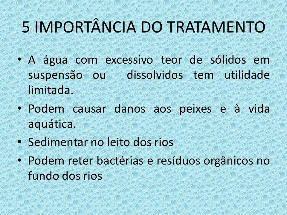 5 IMPORTÂNCIA DO TRATAMENTO