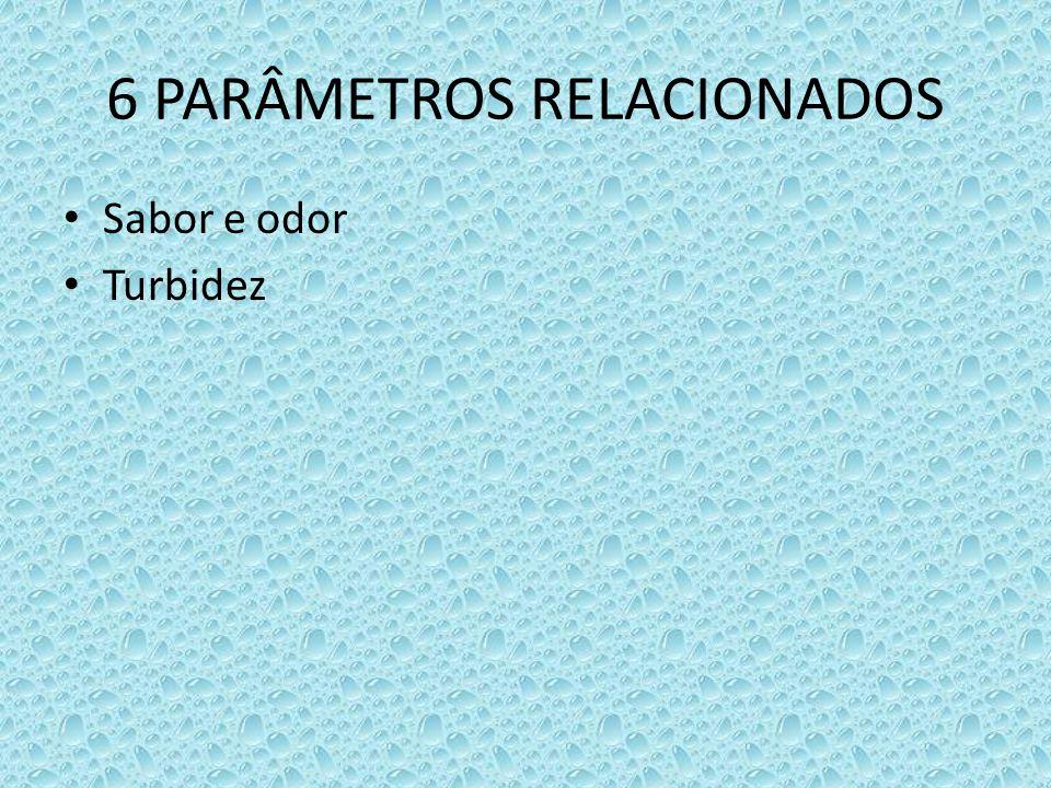 6 PARÂMETROS RELACIONADOS