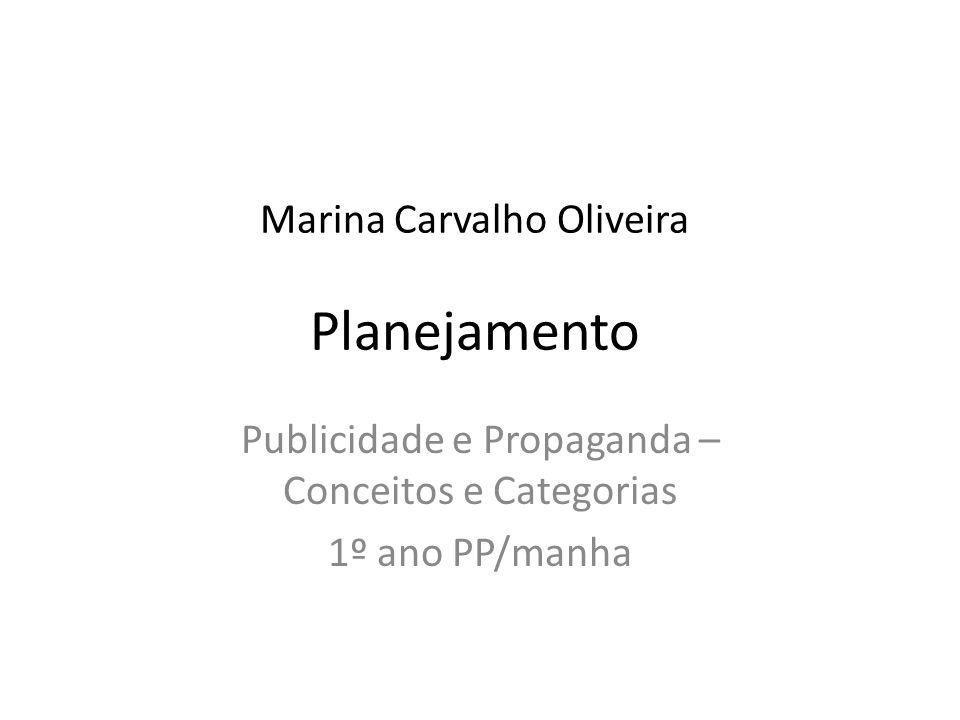 Marina Carvalho Oliveira Planejamento