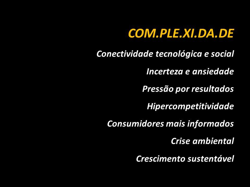 COM.PLE.XI.DA.DE Conectividade tecnológica e social