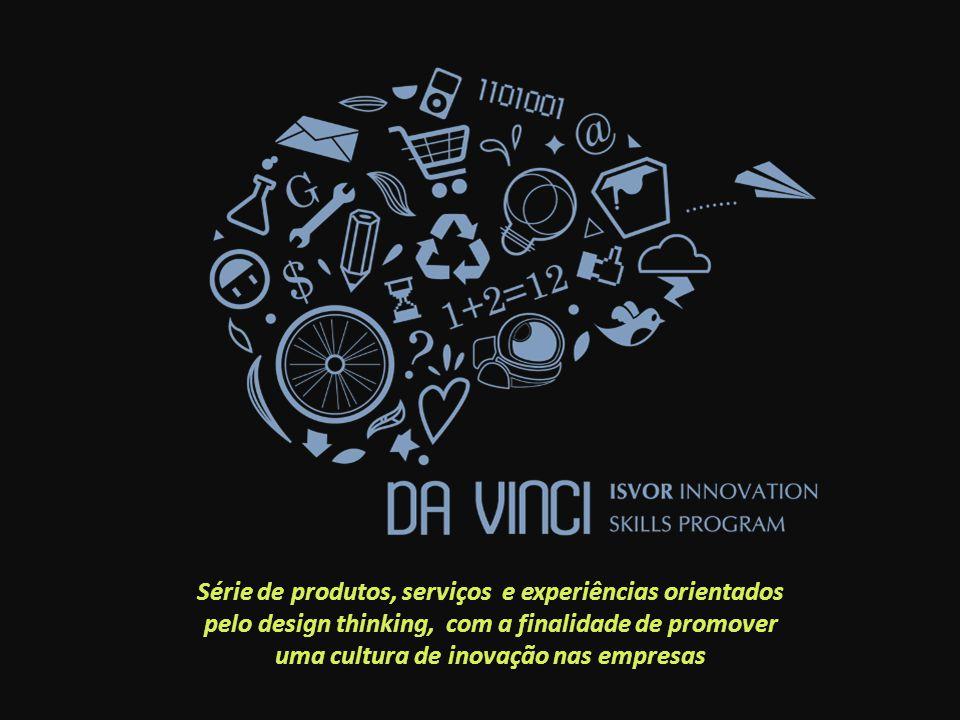 Série de produtos, serviços e experiências orientados pelo design thinking, com a finalidade de promover uma cultura de inovação nas empresas