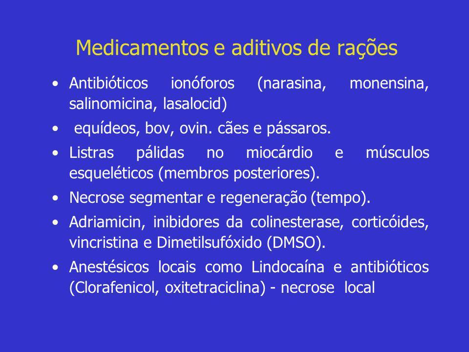 Medicamentos e aditivos de rações