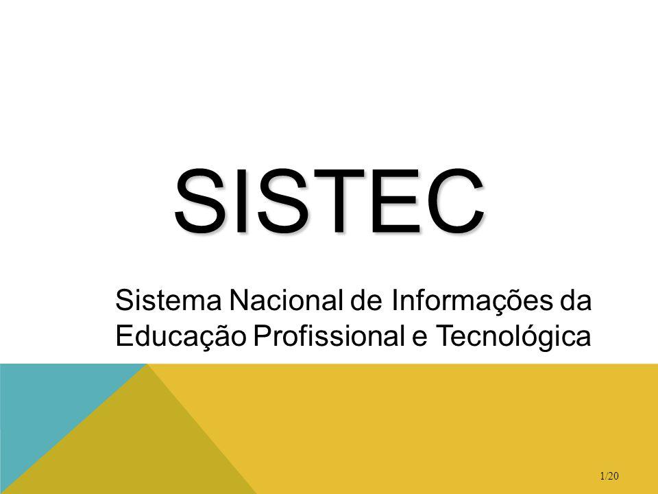 Sistema Nacional de Informações da Educação Profissional e Tecnológica