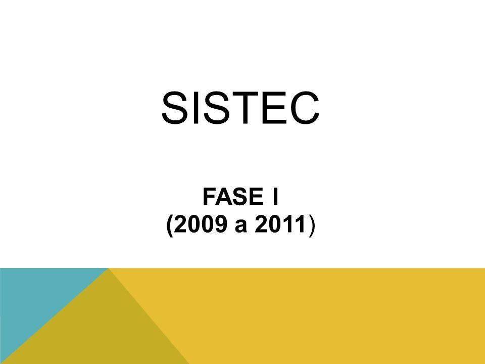 SISTEC FASE I (2009 a 2011)
