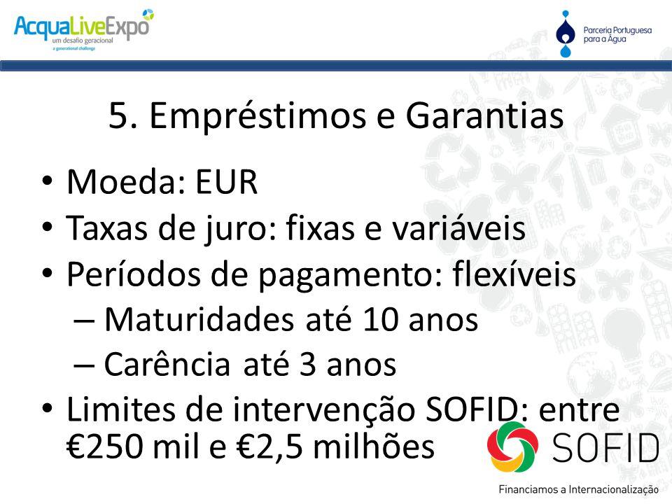 5. Empréstimos e Garantias