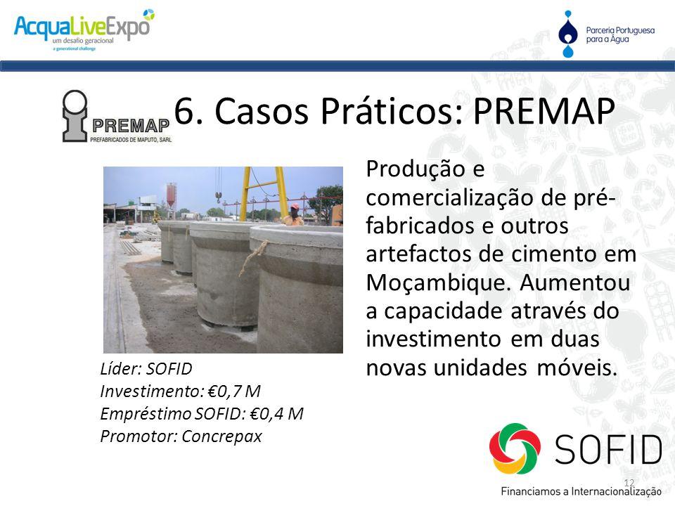 6. Casos Práticos: PREMAP