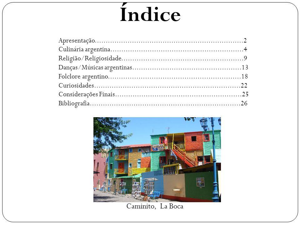 Índice Caminito, La Boca