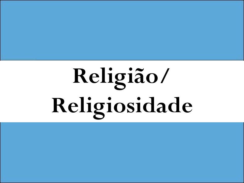 Religião/ Religiosidade