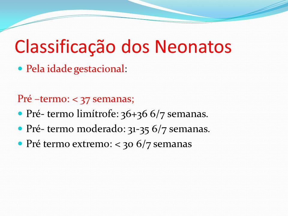 Classificação dos Neonatos