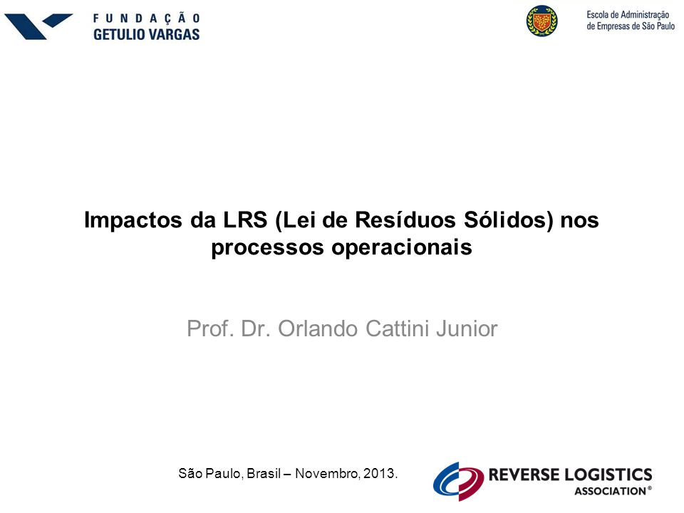 Impactos da LRS (Lei de Resíduos Sólidos) nos processos operacionais