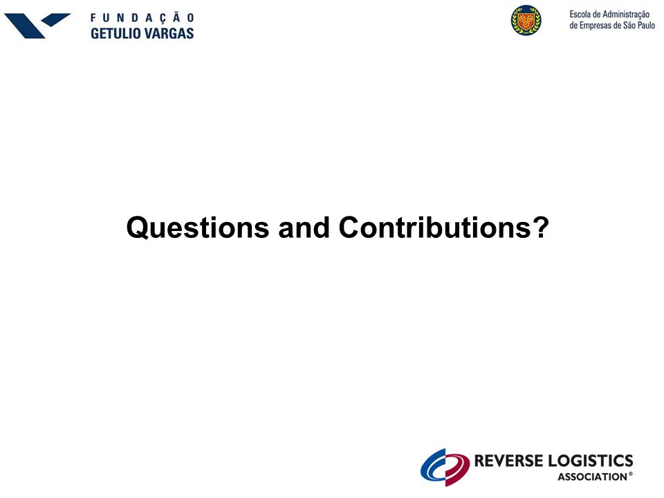 Questions and Contributions