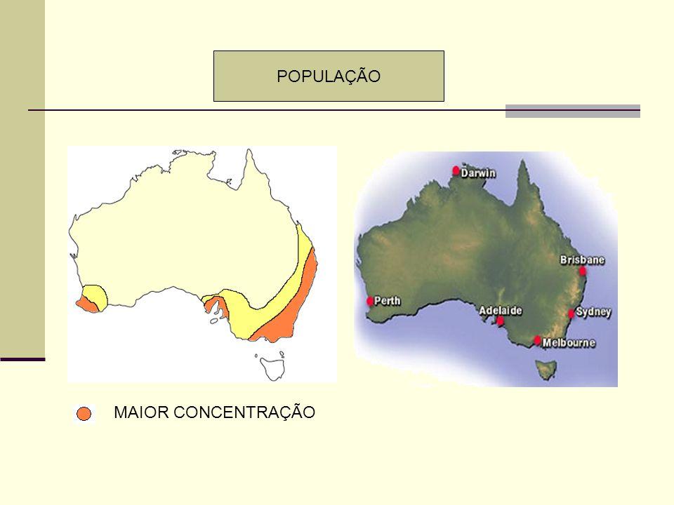 POPULAÇÃO MAIOR CONCENTRAÇÃO