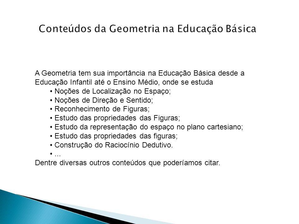Conteúdos da Geometria na Educação Básica