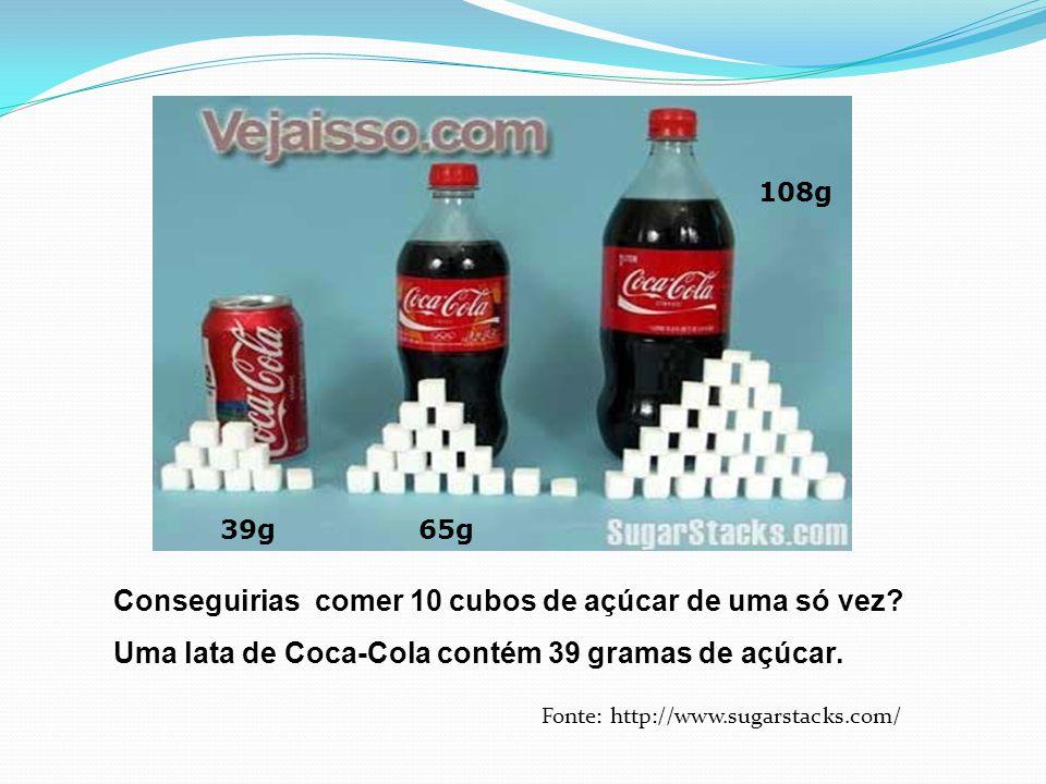 Conseguirias comer 10 cubos de açúcar de uma só vez
