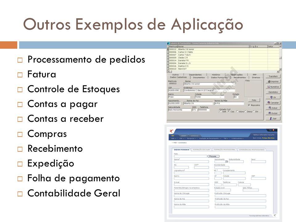 Outros Exemplos de Aplicação