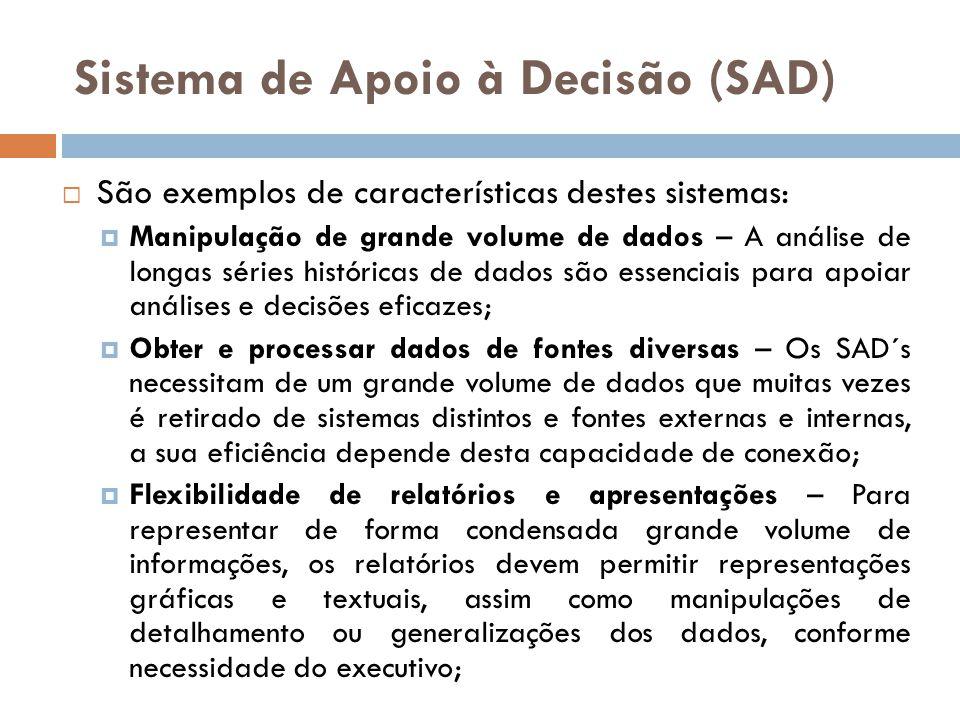 Sistema de Apoio à Decisão (SAD)