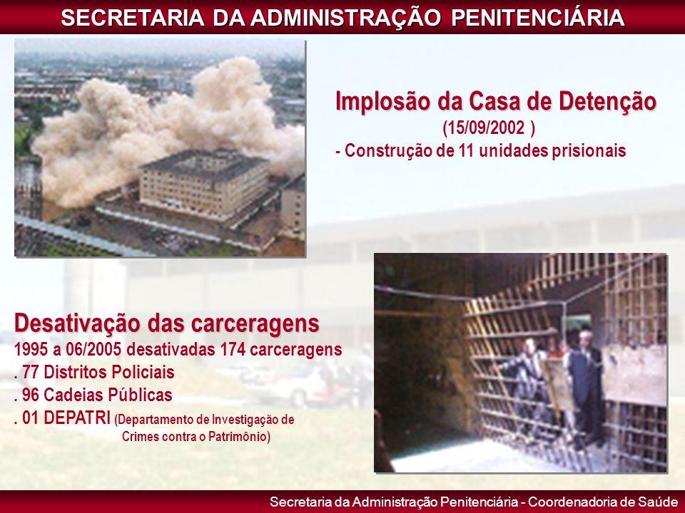 SECRETARIA DA ADMINISTRAÇÃO PENITENCIÁRIA