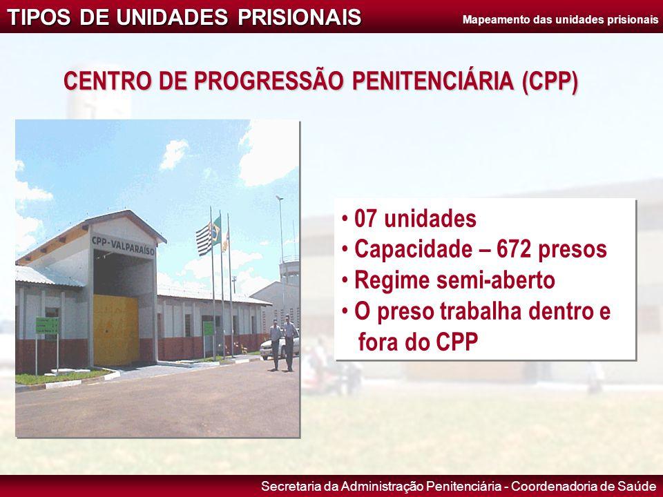 CENTRO DE PROGRESSÃO PENITENCIÁRIA (CPP)