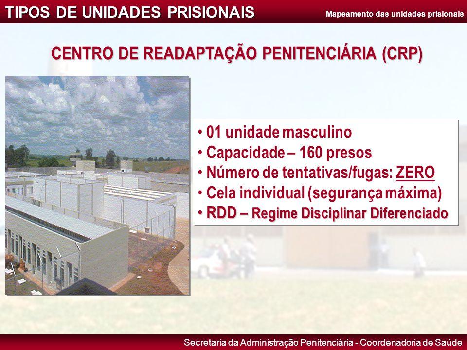 CENTRO DE READAPTAÇÃO PENITENCIÁRIA (CRP)