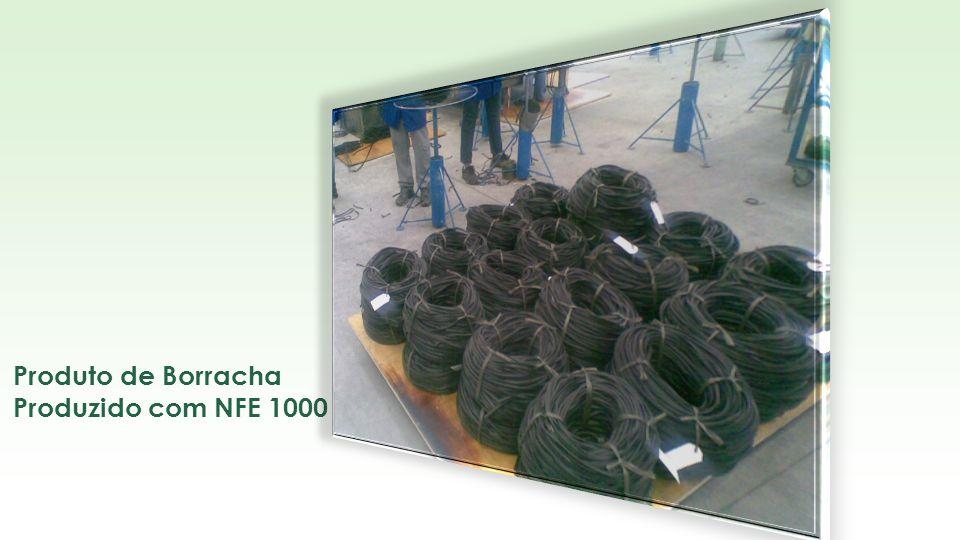Produto de Borracha Produzido com NFE 1000