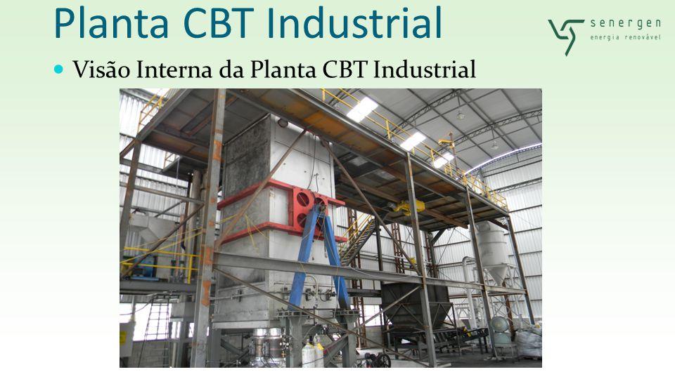 Planta CBT Industrial Visão Interna da Planta CBT Industrial