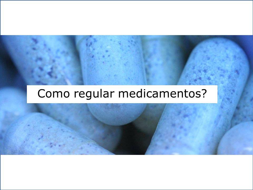 Como regular medicamentos