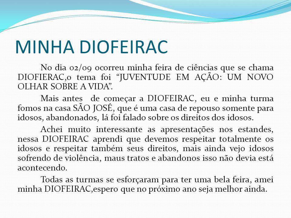MINHA DIOFEIRAC