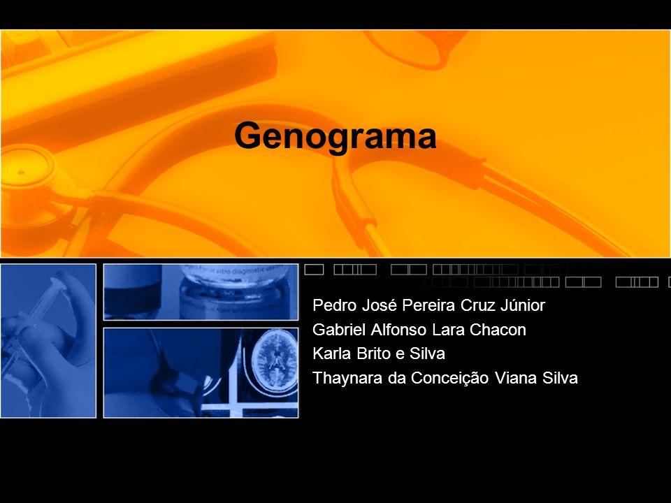 Genograma Pedro José Pereira Cruz Júnior Gabriel Alfonso Lara Chacon