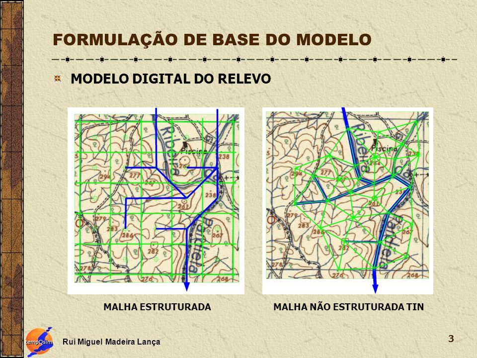 FORMULAÇÃO DE BASE DO MODELO