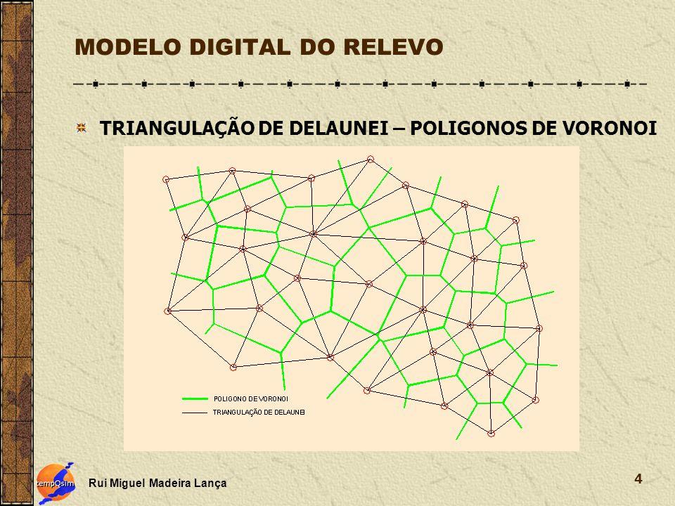 MODELO DIGITAL DO RELEVO